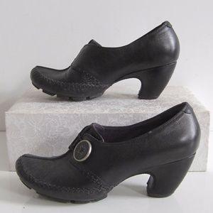 Clarks Indigo Ankle Boots Pumps Slip On  Round Toe