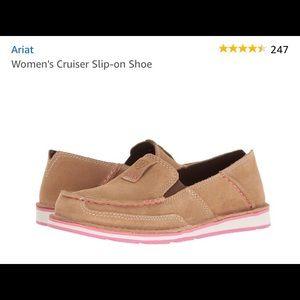 W 7.5 Ariat Cruiser slip-on shoe NWT