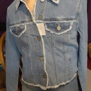Fashion nova light jean jacket