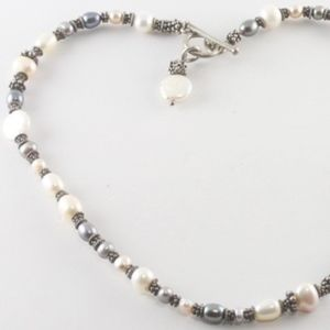Gorgeous Freshwater Pearls with Sterling Silver