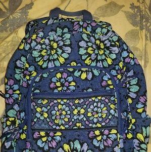 Large Campus Backpack in Indigo Pop