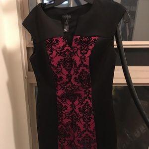 Black and Red Elegant Dress!