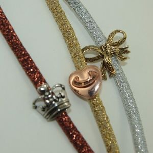 NWT! Juicy Couture Headbands - set of 3