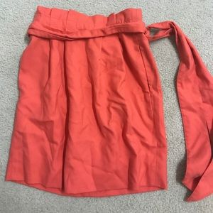 J CREW Skirt. Great for business. Orange coral