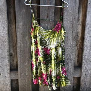 RARE Brandy Melville Tropical Jada dress