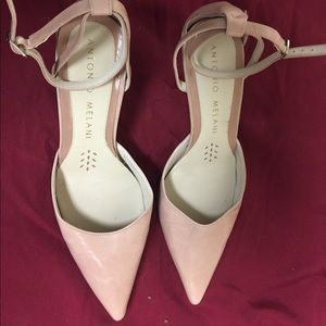 EUC Antonio Melani Italian heels worn 1 x