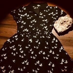 Black Forever 21 sparrow dress