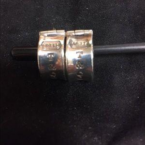 EUC Tiffany & co earrings