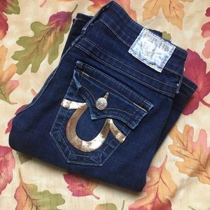 True Religion Golden Jeans