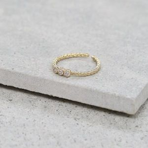 18k Gold Jamie Ring