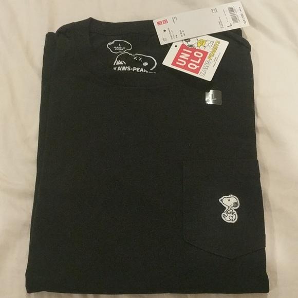 50f9073434 NEW KAWS x Peanuts x Uniqlo Snoopy T shirt