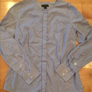 J.Crew button up shirt size 4 excellent