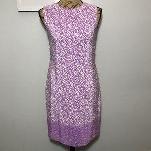 Beautiful Talbots Floral sleeveless Dress