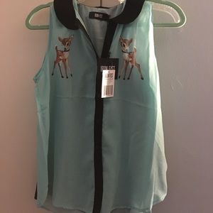 Iron Fist Deery Me top NWT