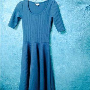 Lularoe Blue Nicole dress