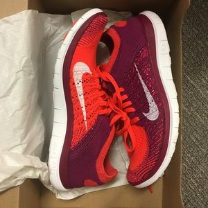 Nike free flyknit 4.0 NEw in box