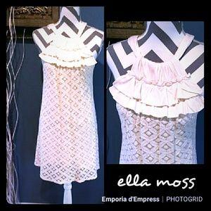 Nwot Ella Moss Anthropologie lace dress