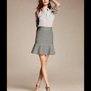 Banana Republic Wool Flounce Skirt