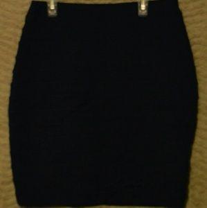 Express nwt dark denim pencil skirt sz 6 small new