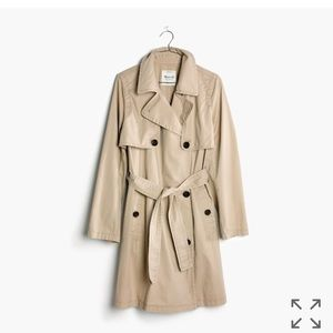Madewell abroad trench coat BNWT - XL