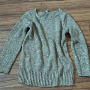 H&M Brown Heather jegging sweater