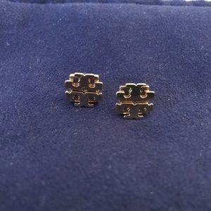 Tory Burch Classic Logo Earrings