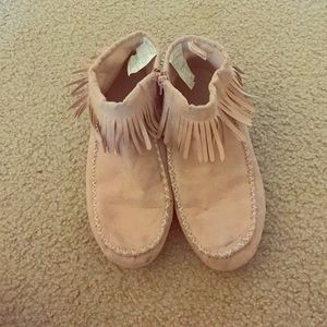 Baby Pink Marcussen boots size 7