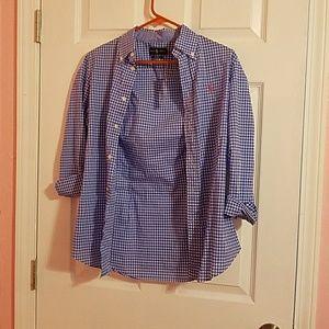 Ralph Lauren Custom Fit Button Down Shirt
