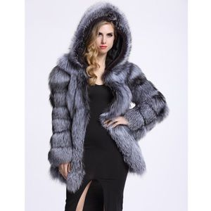 High quality Faux fur winter coat made to order