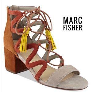 Marc Fisherlace up shoes