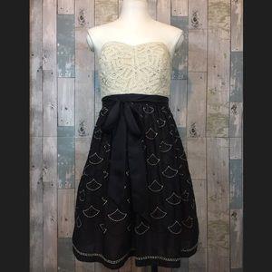 Meadow Rue Battenberg Organdy Dress
