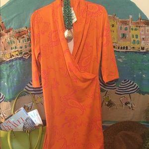 J. McLaughlin Brand New Wrap Dress