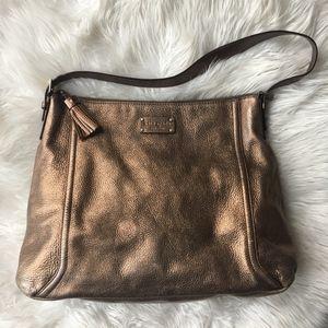 Kate Spade Cheltenham Lucia Metallic Large Handbag
