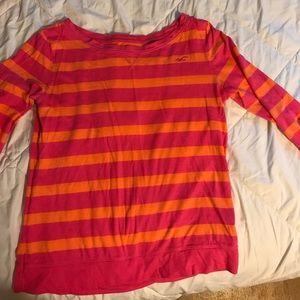 Hollister 3/4 sleeve shirt