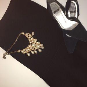 St. John Knit Flare Skirt