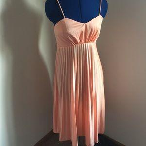 Vintage Peach Party Dress