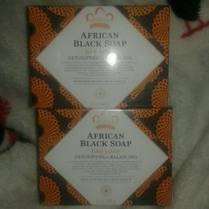 Nubian Heritage African Black Soap (2 bars)