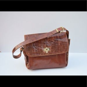 Vintage Furla leather shoulder bag