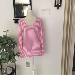 Banana Republic Long Sleeve Striped Top