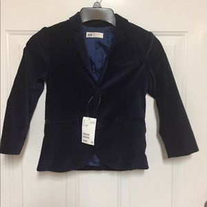 Boys Blazer/Jacket velvet