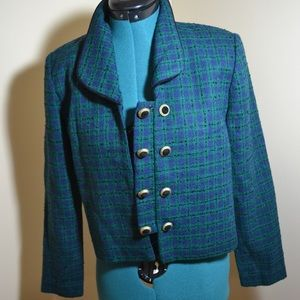 Tweed, short fashion jacket