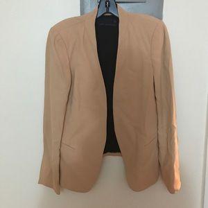 Zara tan blazer - barely used