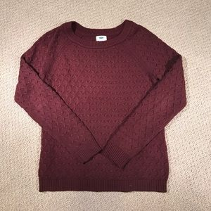 Old navy cable knit sweater.