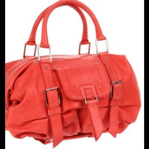 50% off Botkier Handbags - Botkier Sasha Coral Satchel Handbag ...