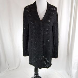 Holey Long Sleeve Cardigan