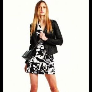 Armani Exchange Graphic Abstract Dress Size 2