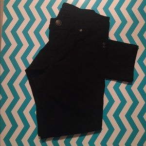 Rue 21 Black Pants Size 7/8