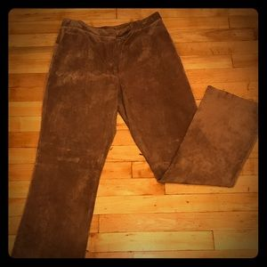 Sweet Suede Boot Cut Pant