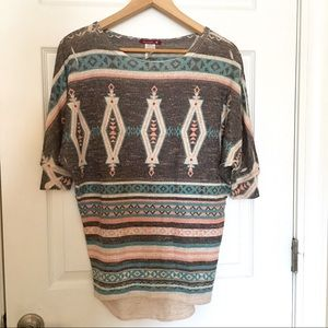 Sievergate Navaho Thin Knit Top
