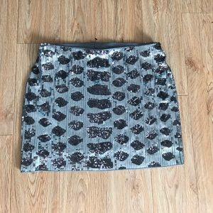 NEW EXPRESS SEQUIN MINI SKIRT